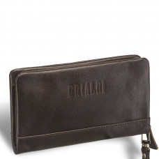 Мужской клатч BRIALDI Bell (Белл) brown в магазине Galantmaster.ru фото