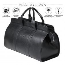 Дорожная сумка BRIALDI Crown (Краун) relief black в магазине Galantmaster.ru фото