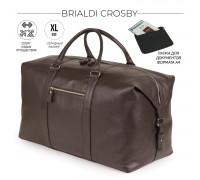 Дорожно-спортивная сумка BRIALDI Crosby (Кросби) relief brown