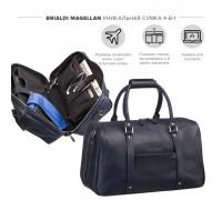 Дорожно-спортивная сумка трансформер BRIALDI Magellan (Магеллан) relief navy