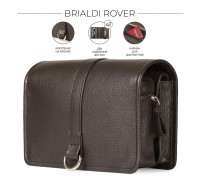 Дорожный несессер BRIALDI Rover (Ровер) relief brown в магазине Galantmaster.ru фото