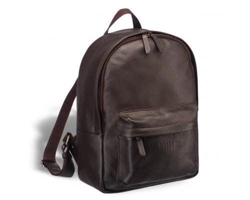 Мужской кожаный рюкзак BRIALDI Pico (Пико) relief brown