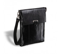 Кожаная сумка через плечо BRIALDI Toronto (Торонто) shiny black в магазине Galantmaster.ru фото