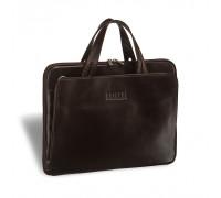 Женская деловая сумка BRIALDI Deia (Дейя) brown в магазине Galantmaster.ru фото