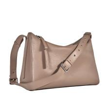 Вместительная женская сумка BRIALDI Fiona (Фиона) relief beige