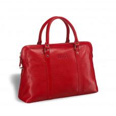 Удобная женская сумка BRIALDI Valencia (Валенсия) relief red в магазине Galantmaster.ru фото