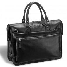 Деловая сумка для документов BRIALDI Pascal (Паскаль) relief black