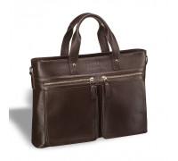 Деловая сумка для документов BRIALDI Bosa (Боза) brown в магазине Galantmaster.ru фото