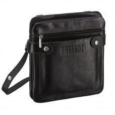Кожаная сумка через плечо BRIALDI Newport (Ньюпорт) black в магазине Galantmaster.ru фото