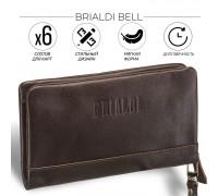 Мужской клатч BRIALDI Bell (Белл) brown