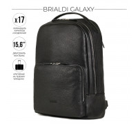 Мужской рюкзак BRIALDI Galaxy (Галакси) relief black в магазине Galantmaster.ru фото