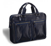 Деловая сумка для документов BRIALDI Parma (Парма) navy BR03293BG