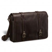 Кожаная сумка через плечо BRIALDI Turin (Турин) brown