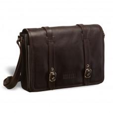 Кожаная сумка через плечо BRIALDI Turin (Турин) brown в магазине Galantmaster.ru фото