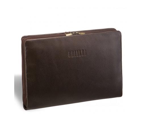 Папка для документов BRIALDI Wright (Райт) relief brown
