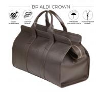 Дорожная сумка BRIALDI Crown (Краун) relief brown