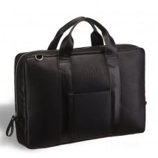 Деловая сумка для документов BRIALDI Atengo (Атенго) black в магазине Galantmaster.ru фото
