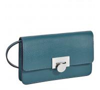 Элегантная сумочка-клатч BRIALDI Paola (Паола) relief turquoise
